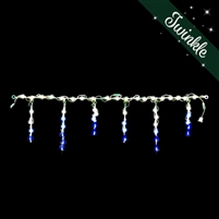 LED Icicle Light Links (Frozen Twinkle) (QTY 6)