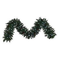 LED Mixed Noble Garland 16' x 14""