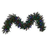 "LED Mixed Noble Garland 9' x 14"" - Multi - Qty 4"