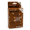13' Micro Lights LED 40 - Copper Wire/WW - (Qty 24)