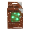 20' Micro Lights LED 60 - Copper Wire/Green - (Qty 24)