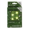 13' Micro Lights LED 40 - Green Wire/WW - (Qty 24)