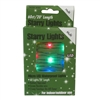 20' Micro Lights LED 60 - Green Wire/Multi - (Qty 24)