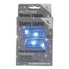 13' Micro Lights LED 40 - Silver Wire/Blue - (Qty 24)