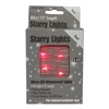 13' Micro Lights LED 40 - Silver Wire/Red - (Qty 24)