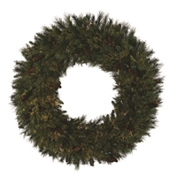 "Mixed Noble Wreath 36"" (Qty 2)  UNLIT"