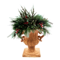 LED Noel Urn Filler - Warm White - Battery Operated (Qty 2)
