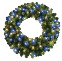 "LED Oregon Fir Wreath 36"" (Qty 2)"