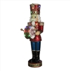 "60"" LED Musical Nutcracker w/ Moving Hands"