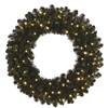 "LED Sierra Wreath 48"" - Warm White"
