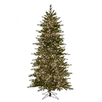 9' Alaskan Cluster Light Tree - Warm White
