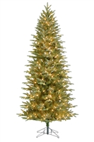 Fraser Fir Deluxe Tree 7.5' Slender - Clear
