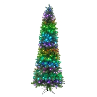 RGB Mini Pixel Sierra Pencil Tree 7.5'