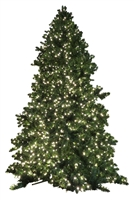 20' Giant Commercial Size Tower Tree - Warm White