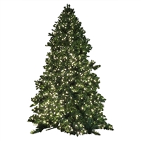 26' Giant Commercial Size Tower Tree - Warm White