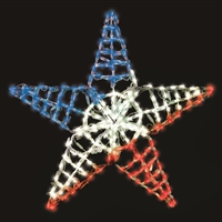 "LED TP Five Point Star 36""- RGB"