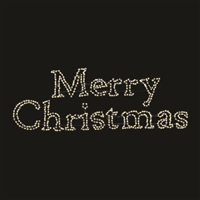 LED TP Merry Christmas Sign - Mixed White
