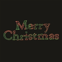 LED TP Merry Christmas Sign - RGB