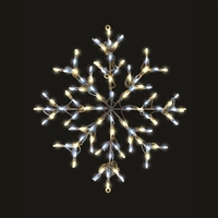 LED TP Snowflake - Mixed White