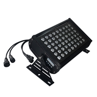 RGB Wall Washer - 54 LED Bulbs