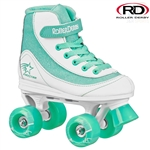 roller,derby,firestar,skate,disco,quad,white,teal