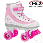 roller,derby,firestar,skate,disco,quad,white,pink