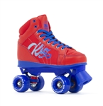 sfr,rio,roller,skates,disco,lumina,red,blue