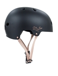 rio,roller,rose,helmet,safety,scooter,bmx,black