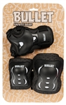 bullet,triple,pads,protection,black