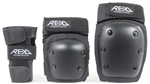 rekd,triple,pad,set,safety,protection,black