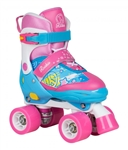 rookie,disco,skate,roller,adjustable,pink,fab