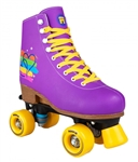 rookie,disco,skate,roller,adjustable,purple,passio
