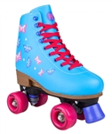rookie,disco,skate,roller,adjustable,blue,blossom