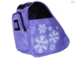 snowflake,ice,skate,bag,roller,disco,purple