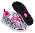heelys,pro,20,black,white,pink,skulls,girls,x2