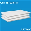 3 medium density ceramic fiber board dimensions 1.5x24x48