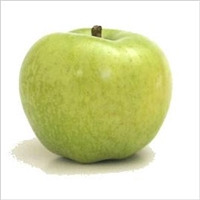 Newtown Pippins apples are medium and variable in shape, tending toward flat or oblong with ribbing. The flavor of Pippin Apple is excellent, balanced between sweet and acidic, honeyed and refreshing with notes of pineapple.