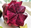 Exotic Fruit Market offers Red Dragon fruits grown in Sunny California, USA. Sweet, juicy dragon fruit is obtained from the cactus family plants of Central American origin, in the genus: Hylocereus. Dragon Fruit is known as pitihaya or pithaya.