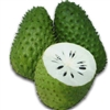 Soursop is the fruit of Annona muricata, a broadleaf, flowering, evergreen tree. The exact origin is unknown; it is native to the tropical regions of the Americas and is widely propagated.