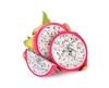 Exotic Fruit Market offers White Dragon fruits grown in Sunny California, USA. Sweet, juicy dragon fruit is obtained from the cactus family plants of Central American origin. White Dragon Fruit is sold as pitihaya or pithaya in the western markets.