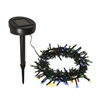 ALEKO Solar Powered String Lights - 100 LED - Multicolor