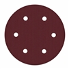 Sanding Disc - 9 In - 80 Grit - 6 Holes - DP-3000 - 10 Pack - ALEKO