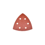 ALEKO® 14SP01H 30 Pieces Triangle Sanding Pads With 6 Holes (Choose your grit)