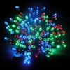 ALEKO® 200 LED Solar Powered Holiday String Lights, Multicolor