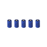 5BCR123A Multipurpose CR123A 3.0V Lithium Reliable Long Lasting Batteries, Pack of 5