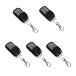 ALEKO® 5LM124 Remote Control Transmitter 433.92 MHz for ALEKO® Gate Openers, Lot of  5