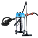 690F Commerical Electric Drywall Sander with Lightweight Wet Dry Vacuum Cleaner - Red and Blue - ALEKO
