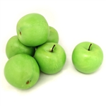 6AFGAP Decorative Artificial Green Apple