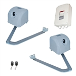 Articulated Gate Opener for Dual Swing Gates - AA1100 - Basic Kit - ALEKO