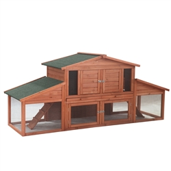 91X28X39In Wooden Pet House